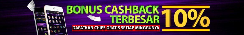 Bonus Cashback Terbesar