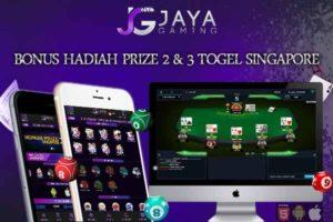 Hadiah Prize Togel Singapore