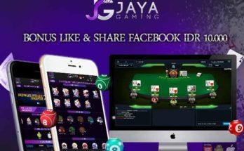 Bonus Like & Share Facebook IDR 10.000